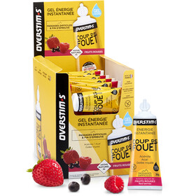 OVERSTIM.s Coup de Fouet Liquid Gel confezione 36x30g, Red Berries